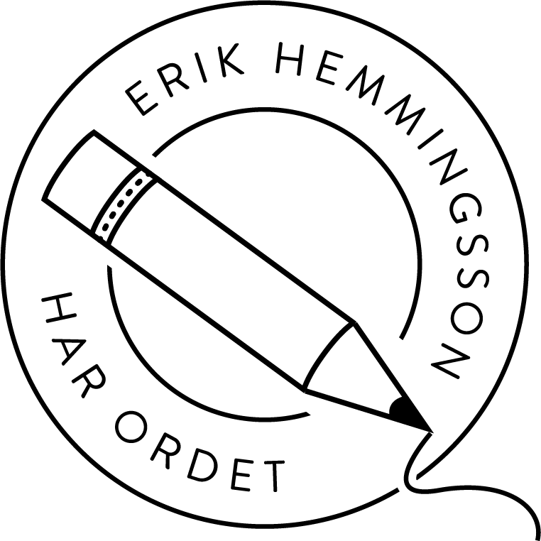 Erik hemmingsson has the word