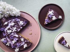 frozen blåbärscheesecake