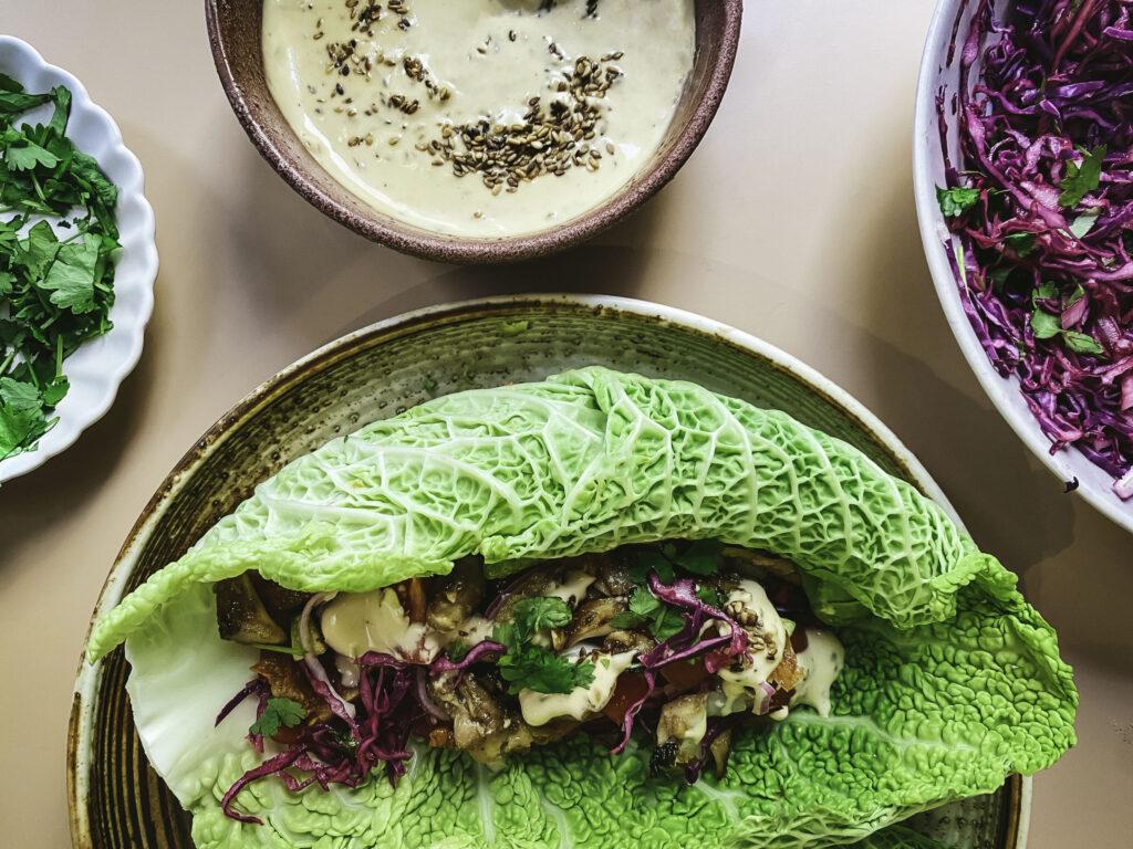 koreansk taco
