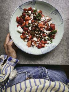 jordgubbssallad